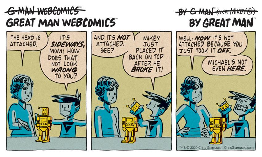 G-Man Webcomics #259: It's Not Even Broken