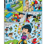G-Man Cape Crisis by Chris Giarrusso. Chapter 1, page 15.