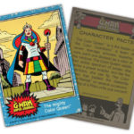 The G-Man Super Journal: Trading Card #4, The Color Queen