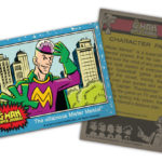 The G-Man Super Journal: Trading Card #2, Mister Mental
