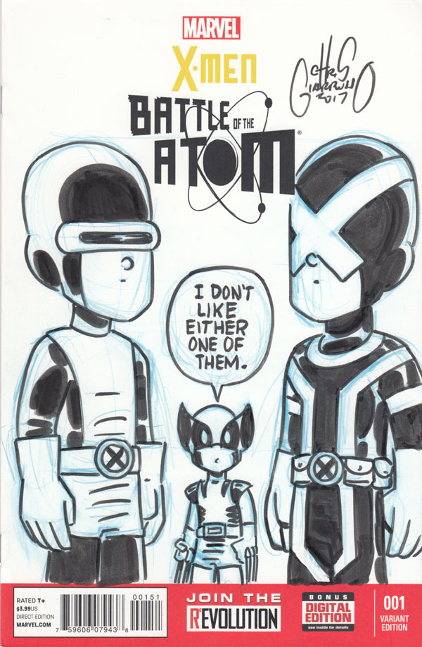 Cyclops times two by Chris Giarrusso