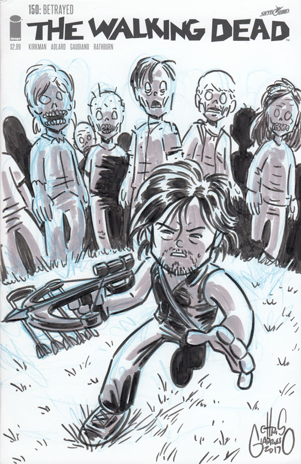 Daryl Dixon by Chris Giarrusso