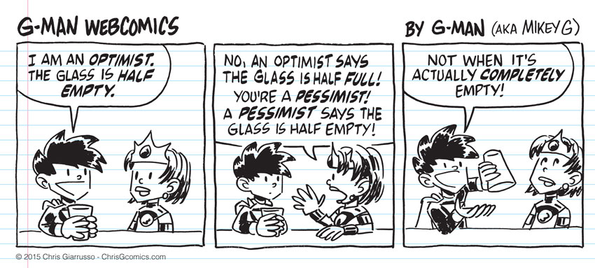 G-Man Webcomics #6: Eternal Optimism