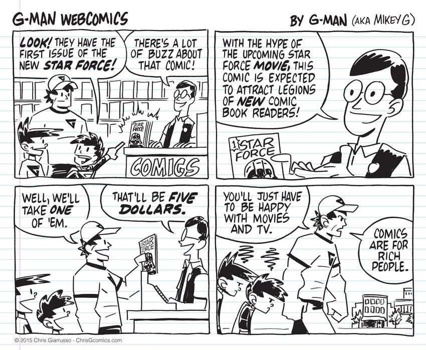 G-Man Webcomics #10: First Issue