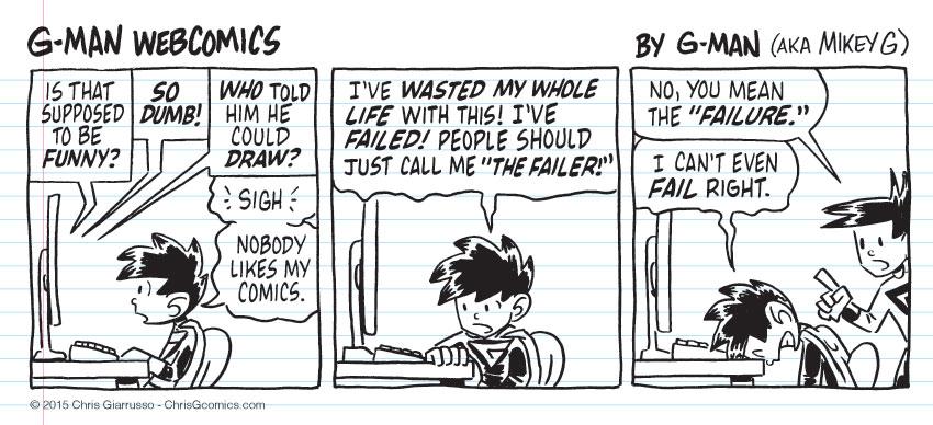 G-Man Webcomics #32: Comics Comments