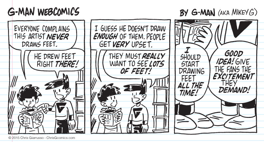 G-Man Webcomics #33: Give 'em What They Want