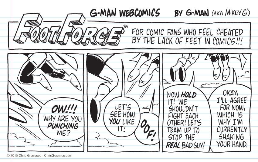 G-Man Webcomics #34: Bigfoot