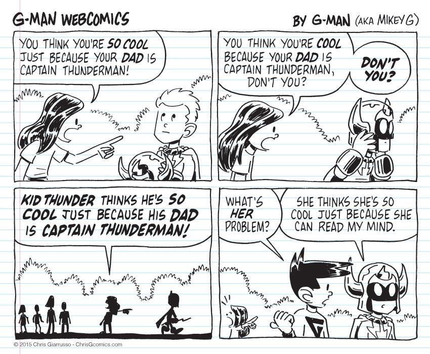 G-Man Webcomics #35: So Cool