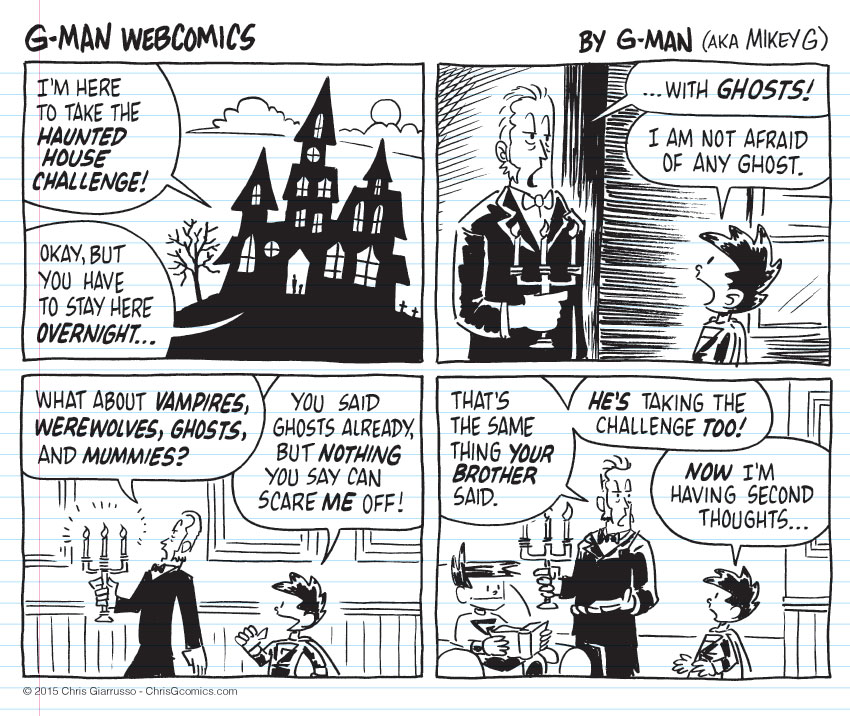 G-Man Webcomics #38: The Challenge