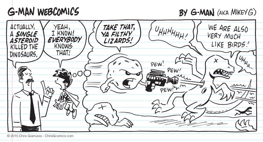 G-Man Webcomics #41: Asteroid