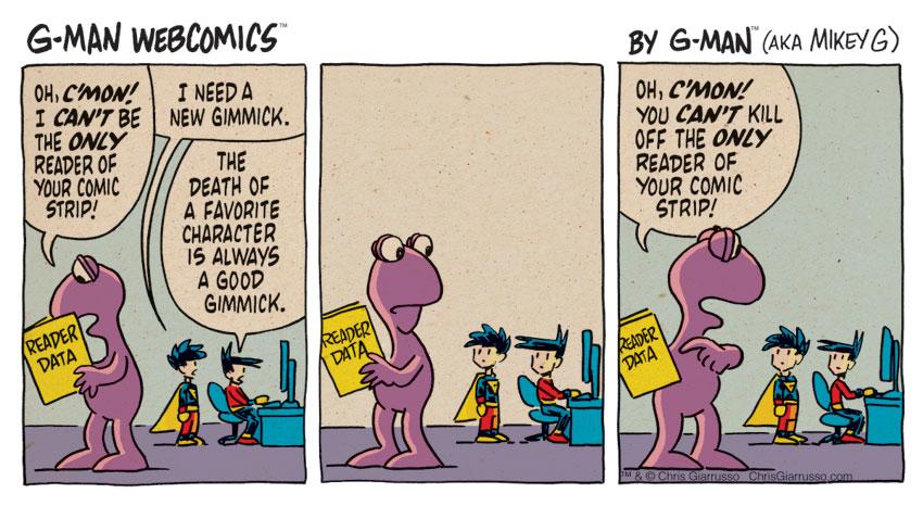 G-Man Webcomics #129: New Gimmick