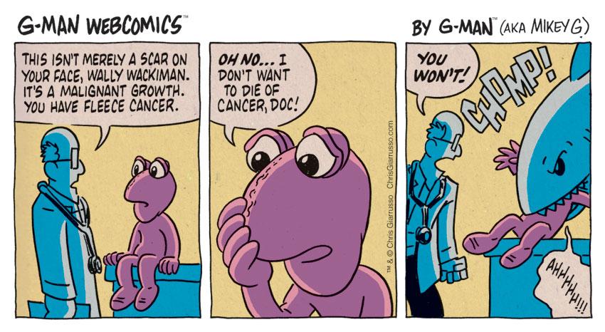 G-Man Webcomics #130: Old Gimmick