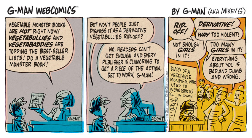 G-Man Webcomics #137: Veg Out