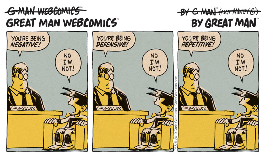 G-Man Webcomics #214: Everyone's a Critic