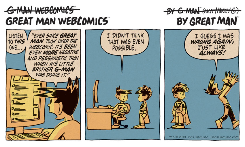 G-Man Webcomics #218: More