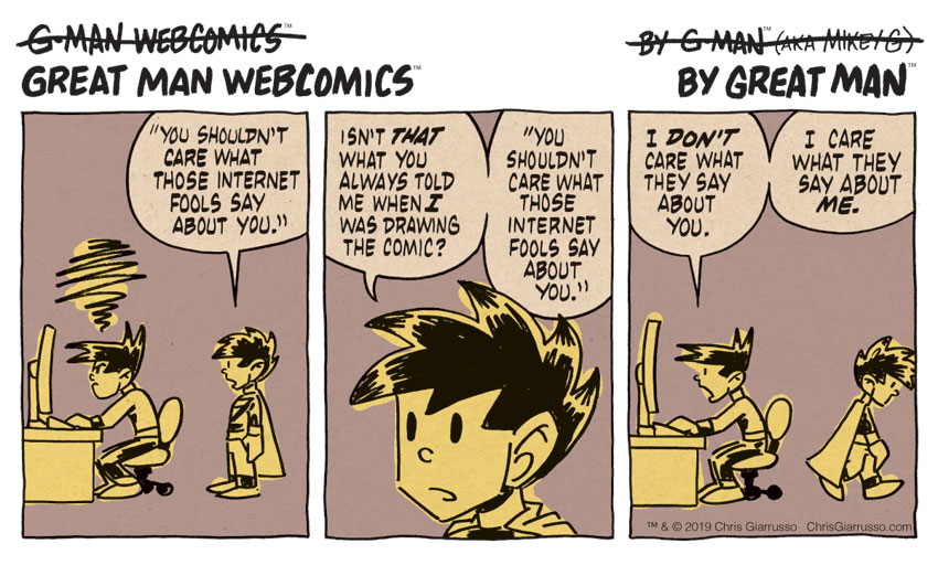 G-Man Webcomics #219: Occupation: Foole