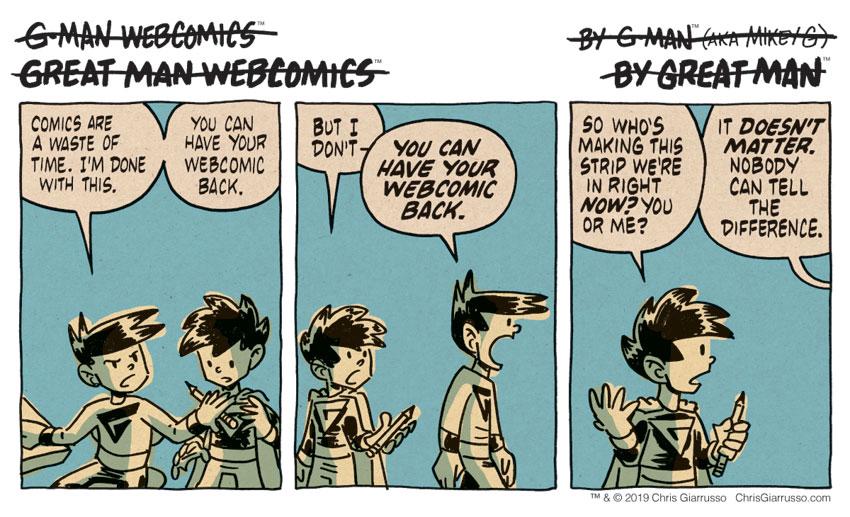 G-Man Webcomics #220: Done