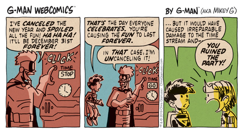 G-Man Webcomics #256: Welcome to the Party, Pal