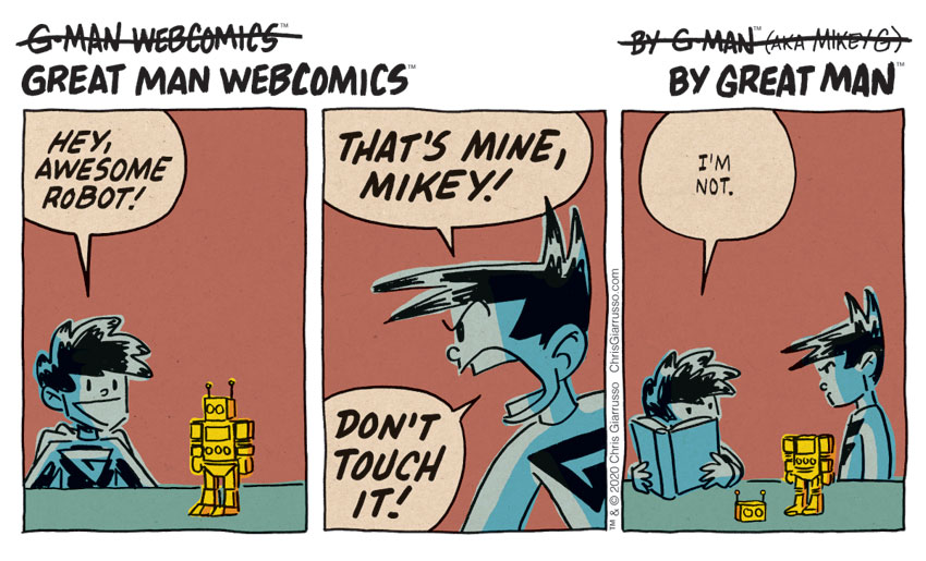 G-Man Webcomics #257: Awesome Robot