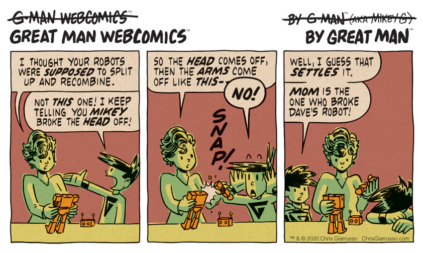 G-Man Webcomics #260: Recombinitron