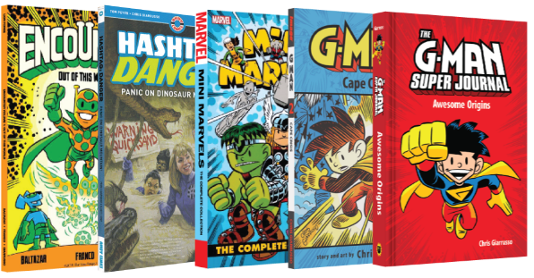 Books by Chris Giarrusso