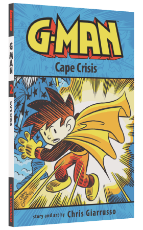 G-Man Cape Crisis by Chris Giarrusso