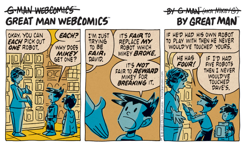 G-Man Webcomics #263: Toy Fair