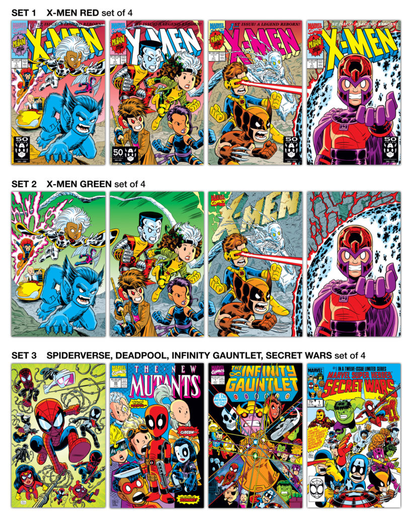 Mini Marvel Prints by Chris Giarrusso