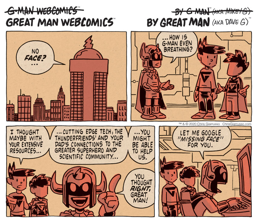 G-Man Webcomics #279: Thunder Resources