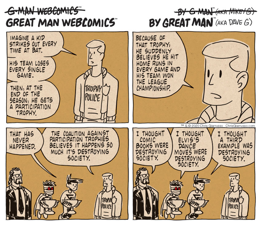 G-Man Webcomics #300: Trope Fees