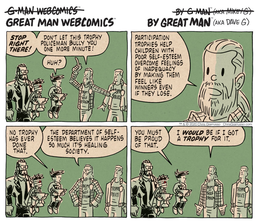 G-Man Webcomics #301: Trophylings
