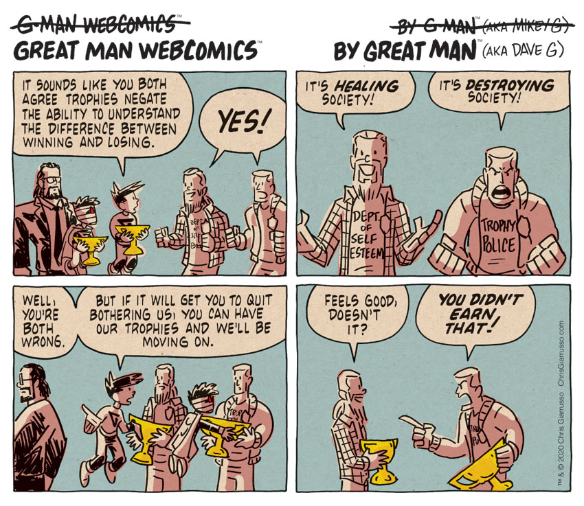G-Man Webcomics #302: Agreeing