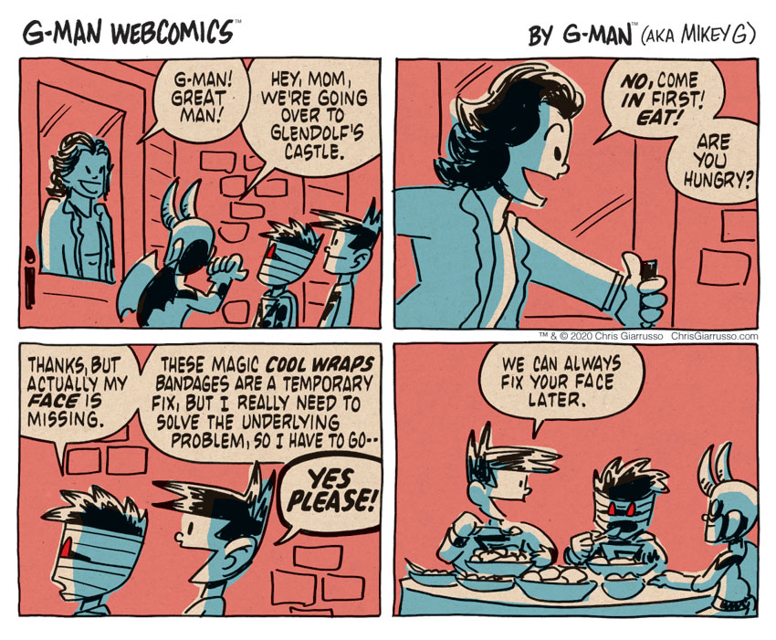 G-Man Webcomics #305: Hungry
