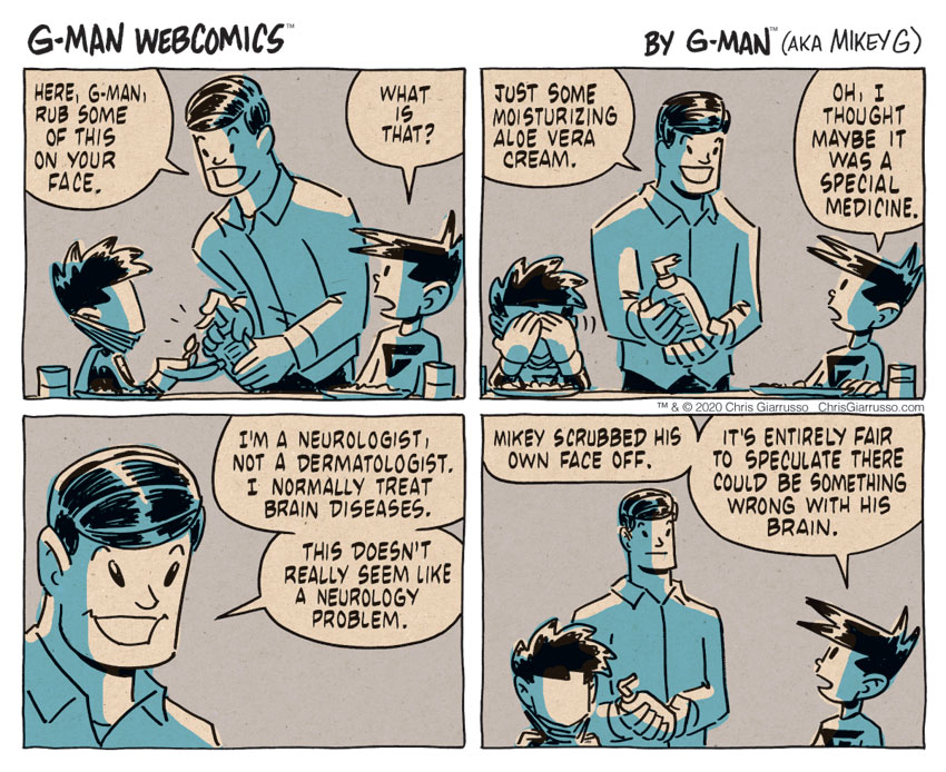 G-Man Webcomics #309: Neurologist