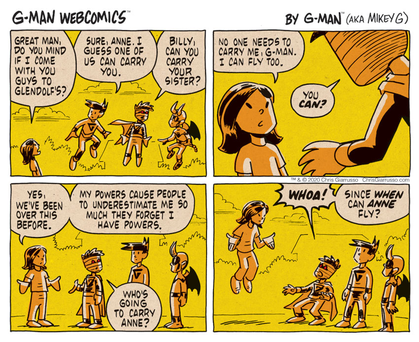 G-Man Webcomics #312: Powerful