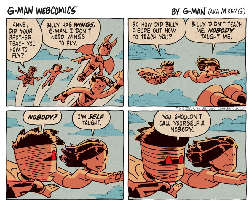 G-Man Webcomics #313: Flying