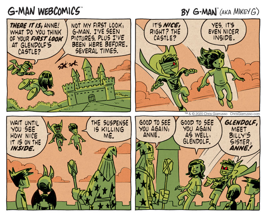 G-Man Webcomics #314: Arrival