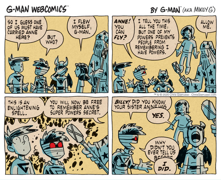 G-Man Webcomics #315: Enlightenment
