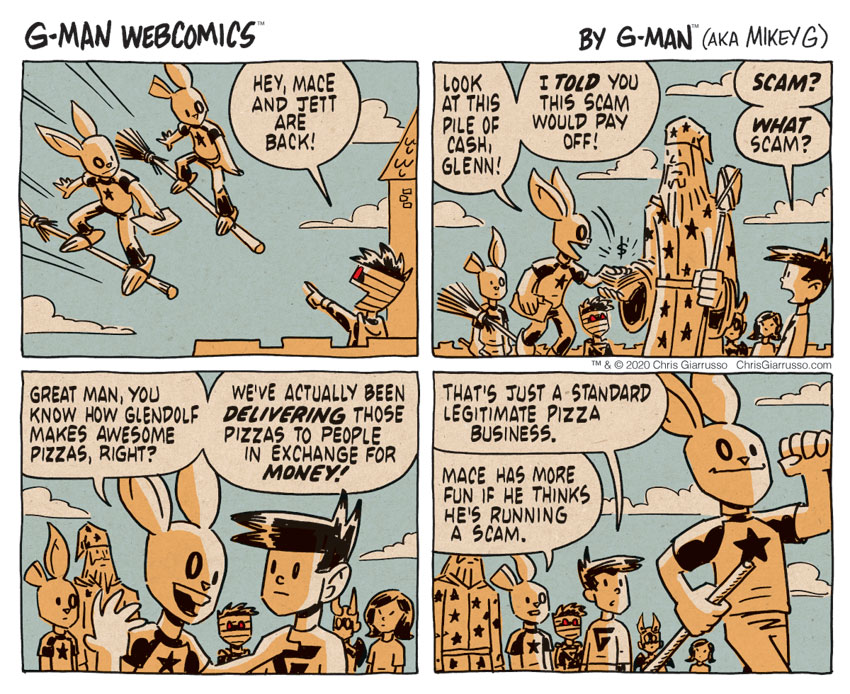 G-Man Webcomics #317: Mace and Jett