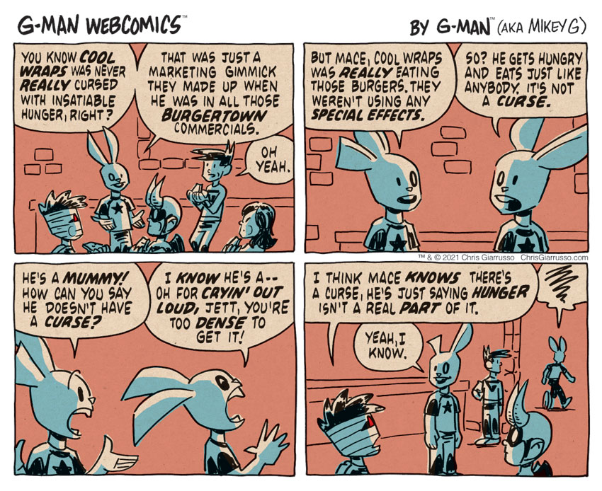 G-Man Webcomics #320: Mummy's Curse