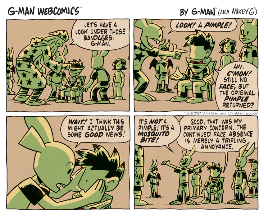 G-Man Webcomics #321: Underneath