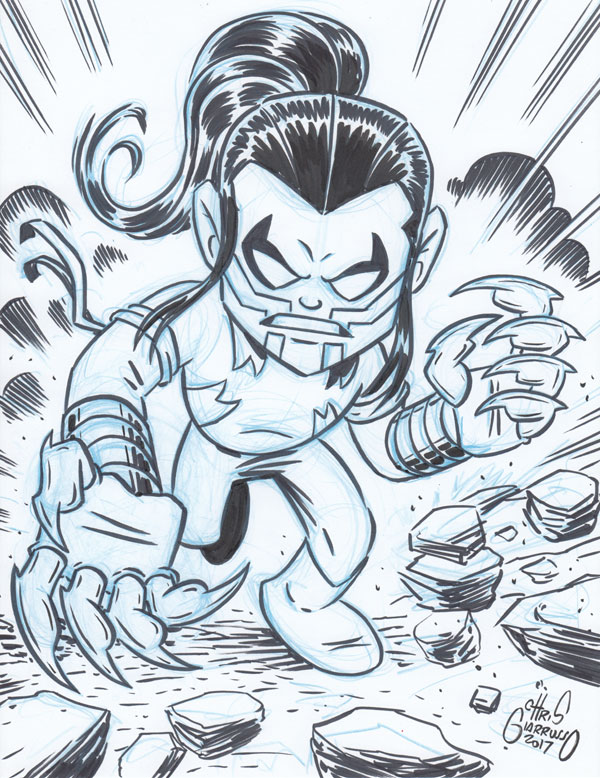 Ripclaw by Chris Giarrusso