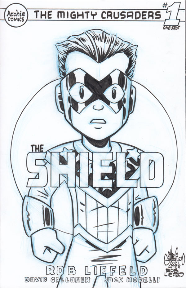 The Shield by Chris Giarrusso