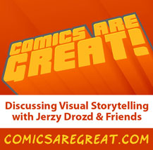 Comics are Great Episode 78: Cartoon Appeal with Chris Giarrusso