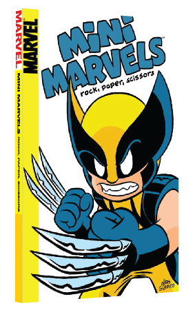 Mini Marvels: Rock, Paper, Scissors by Chris Giarrusso, second printing