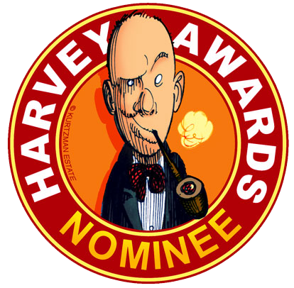 G-MAN Coming Home nominated for 2014 Harvey award!