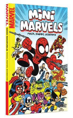 Mini Marvels: Rock, Paper, Scissors by Chris Giarrusso, first printing