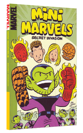 Mini Marvels: Secret Invasion by Chris Giarrusso